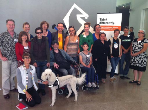 Participants in the Making A Difference Arts Advocacy Programme Auckland