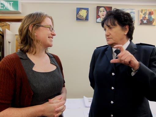 Ann Abraham talks to Gemma Williamson, Arts Access Aotearoa at its annual general meeting
