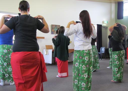 Prisoners at Auckland Region Women's Corrections Facility learn to dance