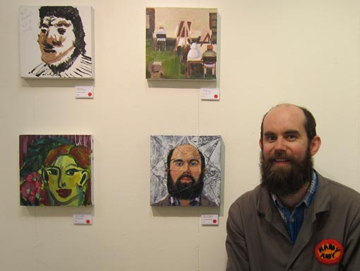 Andrew Mitchell, art tutor, Vincents Art Workshop