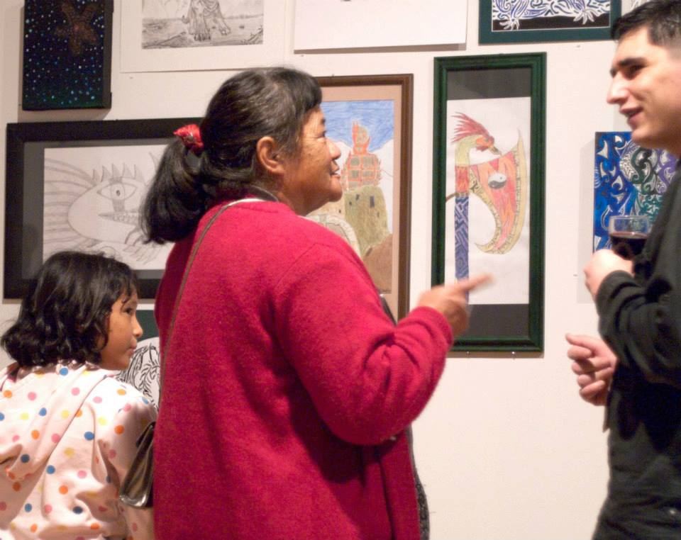The opening of King Street Artworks' annual exhibition