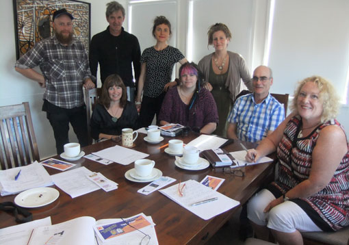 A Wellington Creative Spaces Network meeting