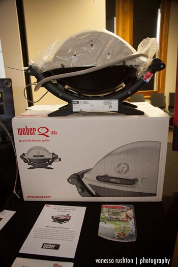 A Weber Baby-Q, thanks to Weber New Zealand