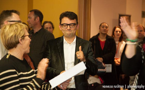 Sandro Eakins-Veras is happy with his successful bid