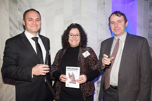 Murray Reade, Lion Foundation, and Gail Richards and Stephen Wainwright, Creative New Zealand