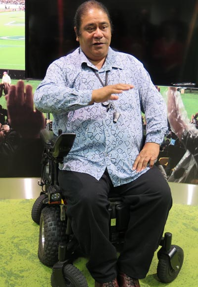 Pati Umaga, musician and disability advocate