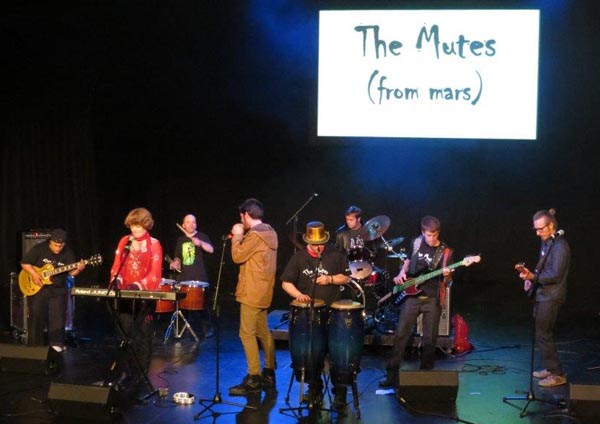 The Mutes from Mars perform at InterACT