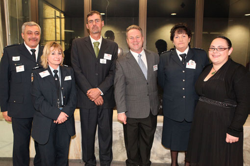 Richard Benge with Department of Corrections guests