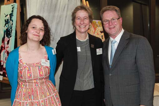 Richard Benge, Arts Access Aotearoa with Talei Langley and Phillipa Tocker, Museums Aotearoa