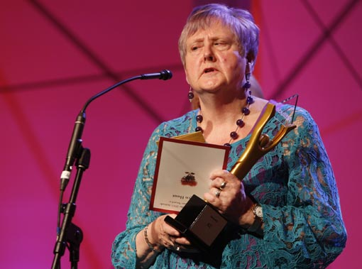 Robyn Hunt, recipient of the ACC Supreme Award and the Making A Difference Award