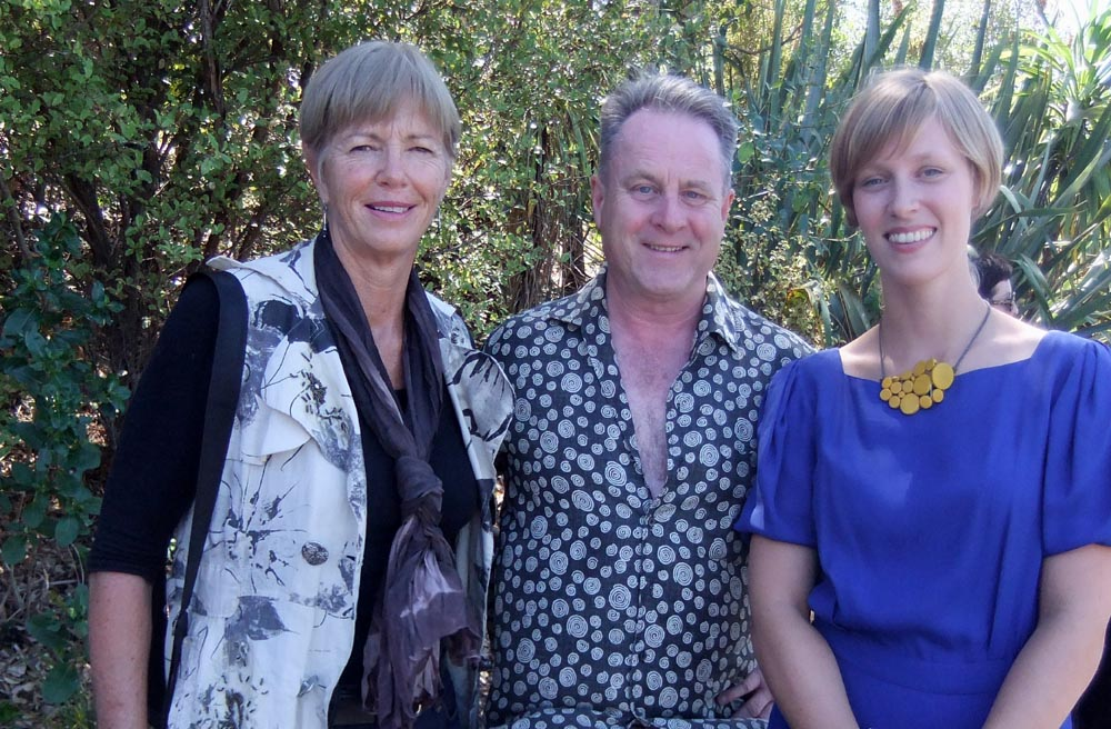 Karen Webster, Richard Benge and Lena Kovic