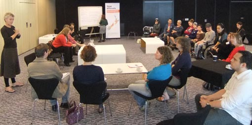 Making a Difference workshop at Aotea Centre