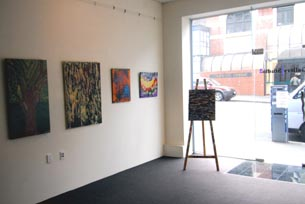 The new, spacious gallery at Gallery/Studio2 in Dunedin
