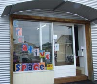 Creative space, based in the centre of Gisborne