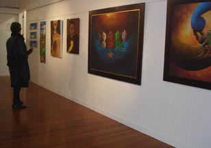 "The opening of ""InsideOut"", Mairangi Arts Centre"