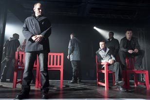 The cast of Platform 2:10 at Her Majesty's Prison Barlinnie, courtesy of Tim Morozzo.