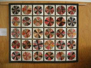 A quilt created by prisoners at Auckland Region Women's Corrections Facility