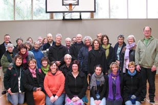 Members of the Wellington Community Choir