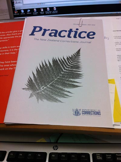 Practice: the New Zealand Corrections Journal